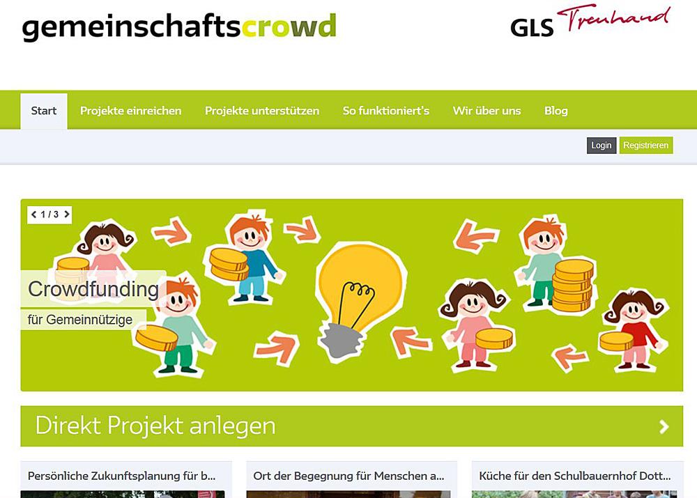 GLS Crowdfunding
